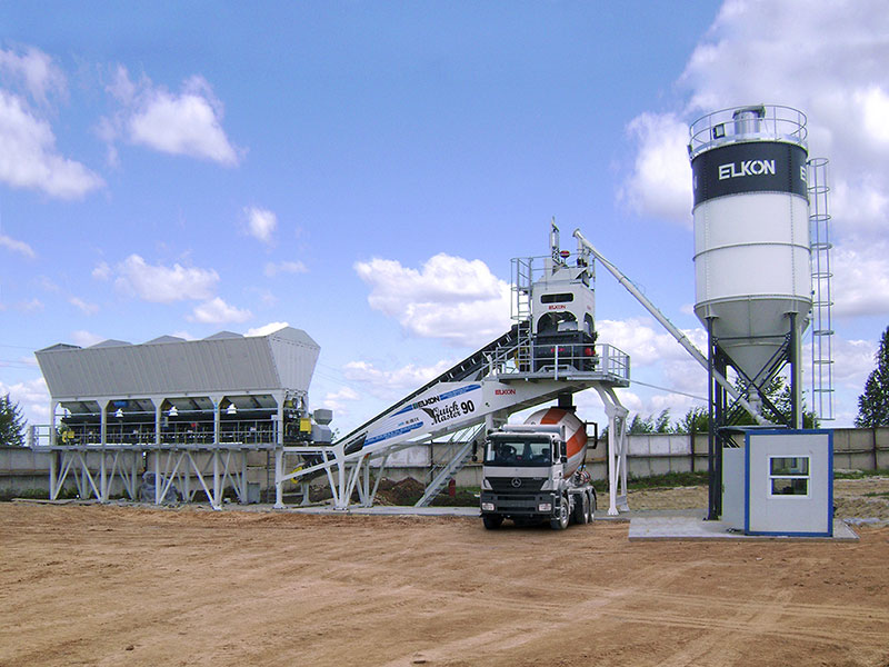 бетонный завод elkon