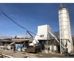 Демонтаж ELBA бетонного завода