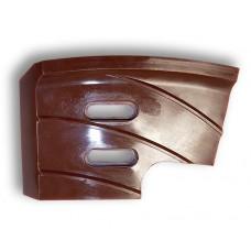 Боковой скребок правый для смесителя бетона BHS (БХС)