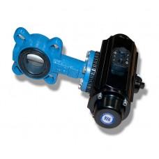 Поворотная задвижка для контроля подачи воды для энергоустановки Турбоматик (Turbomatic)
